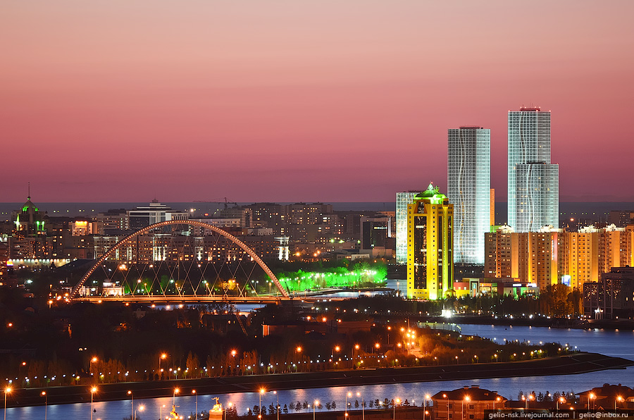 Главный автомобильный мост города