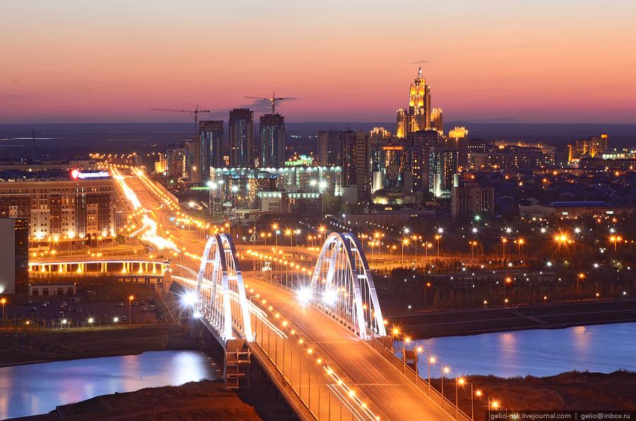 Улица Сарайшык. Мост М-1